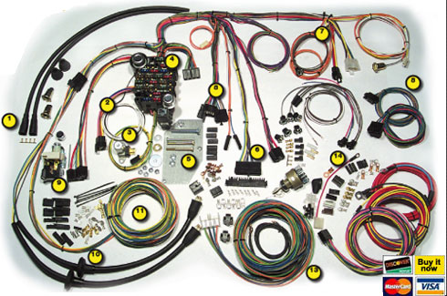 Curt S Rod Custom American Autowire Accessories Classic Wiring