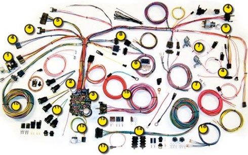 1967-68 Chevy Camaro Classic Update Kit