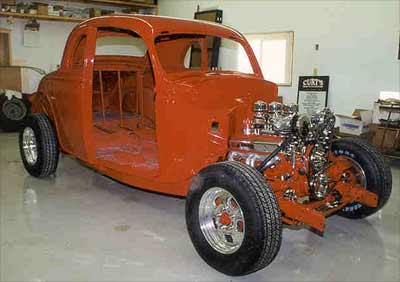 1935 Ford Coupe Hot Rod Showcase Custom Street Rod