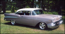 1957 Chevy 2 door hard top